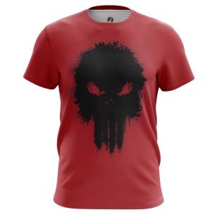 Футболка Punisher red - купить в teestore. Доставка по РФ