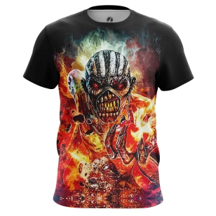 Футболка Iron Maiden - The Book of Souls - купить в teestore. Доставка по РФ