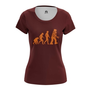 Женская Футболка Evolution - купить в teestore