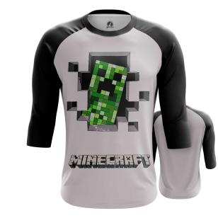 Мужской Реглан 3/4 Minecraft 8 - купить в teestore