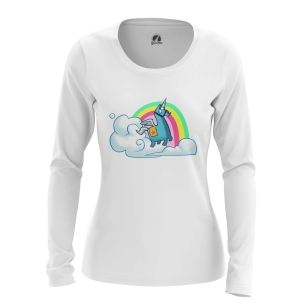 Женский Лонгслив Unicorn Fortnite  - купить в teestore