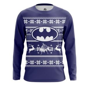 Мужской Лонгслив Christmas Bats - купить в teestore