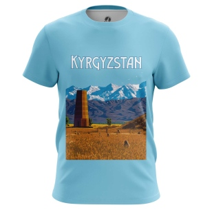 Футболка Kyrgyzstan - купить в teestore. Доставка по РФ