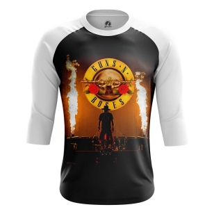 Мужской Реглан 3/4 Guns N' Roses - купить в teestore