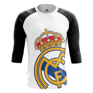 Мужской Реглан 3/4 Реал Мадрид - купить в teestore