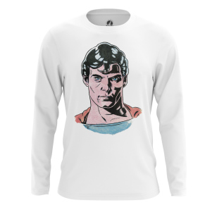 Мужской Лонгслив Супермен 30-е - купить в teestore