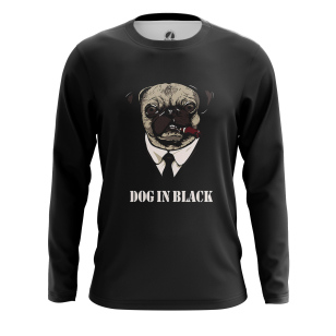 Мужской Лонгслив Dog in Black - купить в teestore