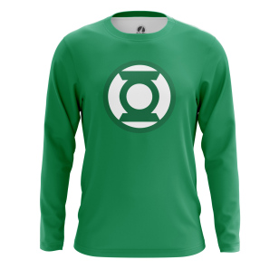 Мужской Лонгслив Зелёный Фонарь - купить в teestore