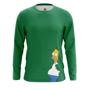 Мужской Лонгслив Homer - купить в teestore
