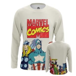 Мужской Лонгслив Marvel Comics - купить в teestore