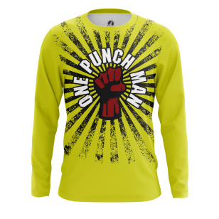 Мужской Лонгслив One punch man - купить в teestore