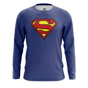 Мужской Лонгслив Superman - купить в teestore