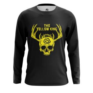 Мужской Лонгслив Yellow king - купить в teestore