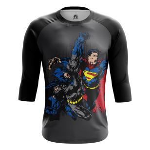 Мужской Реглан 3/4 Бэтмен против Супермена - купить в teestore