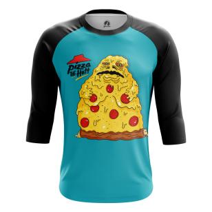 Мужской Реглан 3/4 Pizza the Hut - купить в teestore