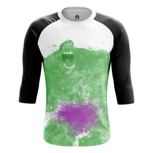 Мужской Реглан 3/4 Splash Hulk - купить в teestore