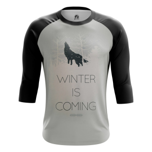 Мужской Реглан 3/4 Winter is coming - купить в teestore