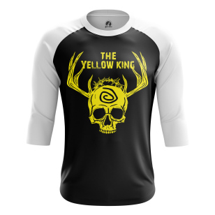 Мужской Реглан 3/4 Yellow king - купить в teestore
