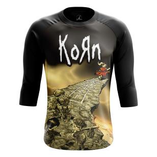 Мужской Реглан 3/4 Korn - Follow the Leader - купить в teestore
