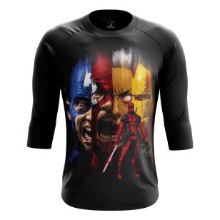 Мужской Реглан 3/4 Deadpool - купить в teestore