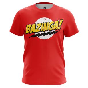 Футболка Bazinga - купить в teestore. Доставка по РФ