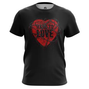 Футболка Hard to Love - купить в teestore. Доставка по РФ