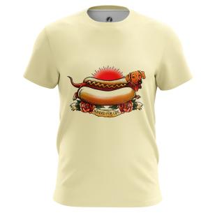 Футболка Hot Dog - купить в teestore. Доставка по РФ