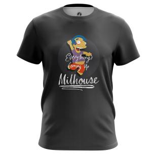 Футболка Milhouse - купить в teestore. Доставка по РФ