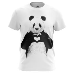 Футболка Panda - купить в teestore. Доставка по РФ