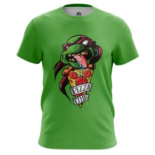 Футболка Pizza time - купить в teestore. Доставка по РФ