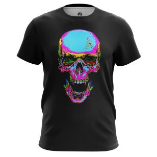 Футболка Rainbow skull - купить в teestore. Доставка по РФ