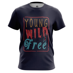 Футболка Young wild free - купить в teestore. Доставка по РФ