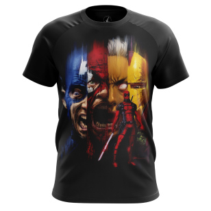 Футболка Deadpool - купить в teestore. Доставка по РФ