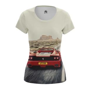 Женские Женские футболки Феррари в Долине монументов. Доставка по всей России
