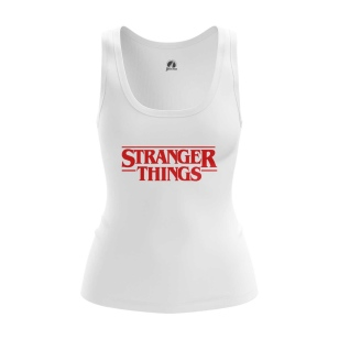 Женская Майка Stranger things logo - купить в teestore