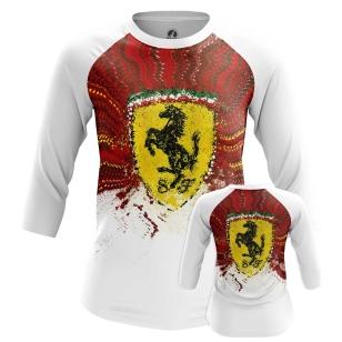 Женские Женские регланы Ferrari. Доставка по всей России