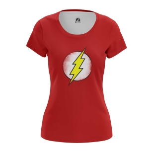 Женская Футболка Sheldon's Flash - купить в teestore
