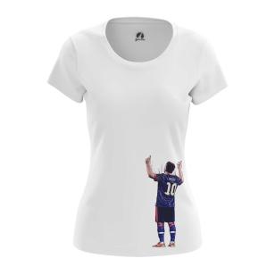 Женские Женские футболки Месси 10. Доставка по всей России