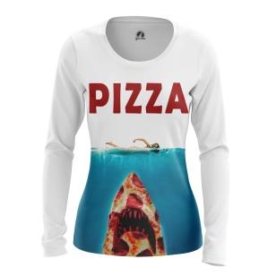 Женский Лонгслив Pizza attacks - купить в teestore