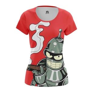 Женские Женские футболки Bender. Доставка по всей России