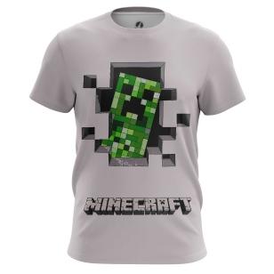 Футболка Minecraft Creeper - купить в teestore. Доставка по РФ