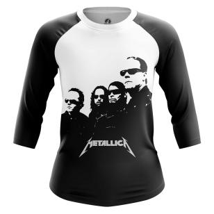 Женский Реглан 3/4 Metallica in black - купить в teestore
