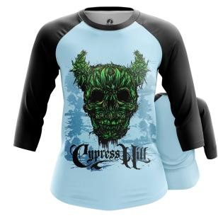 Женский Реглан 3/4 Cypress Hill - купить в teestore
