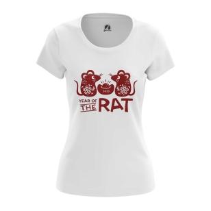 Женская Футболка Year of the Rat 2020 - купить в teestore