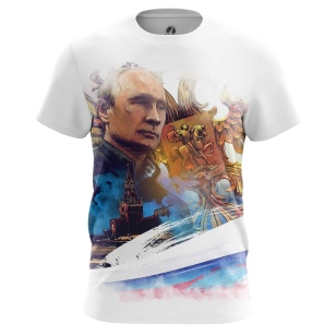 Футболка С Путиным - купить в teestore. Доставка по РФ