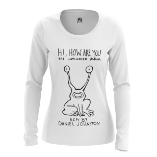 Женский Лонгслив Hi, How Are You - купить в teestore