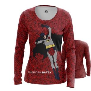Женский Лонгслив American Batsy - купить в teestore