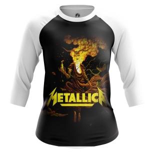 Женский Реглан 3/4 Metallica - купить в teestore
