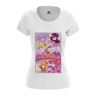 Женская Футболка Sailor Moon - купить в teestore