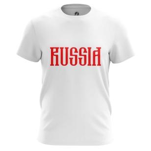 Футболка Russia red - купить в teestore. Доставка по РФ